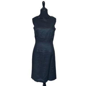 Zara Embellished Little Black Dress Sleeveless LBD